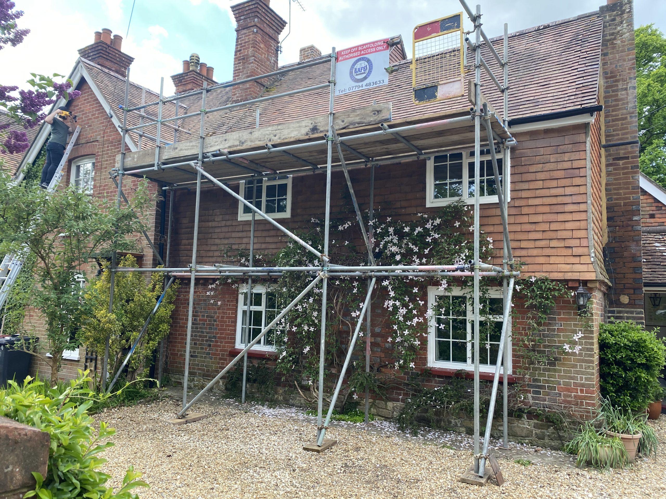 Scaffolding work Residential scaffolding